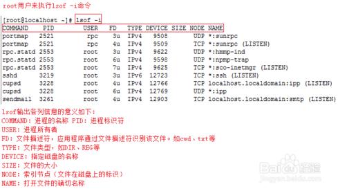 linux如何查看端口被哪个进程占用