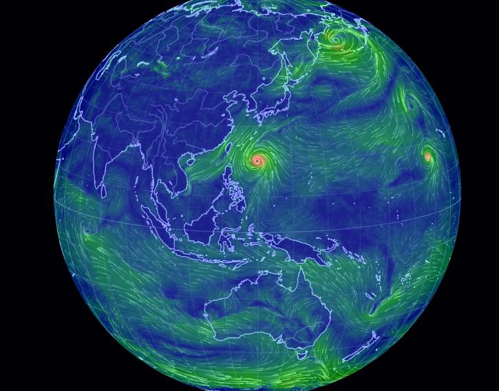 全球风速观测网站