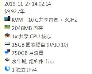 超高性价比VirMach黑五闪购版VPS